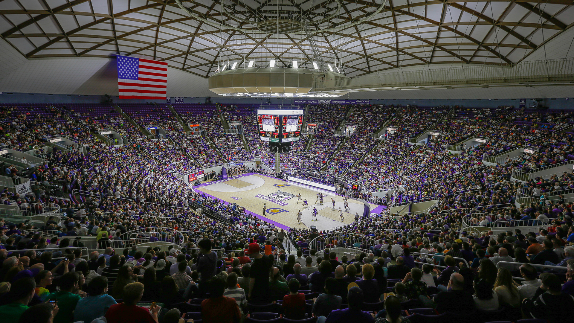 Dee Events Center Weber State Athletics